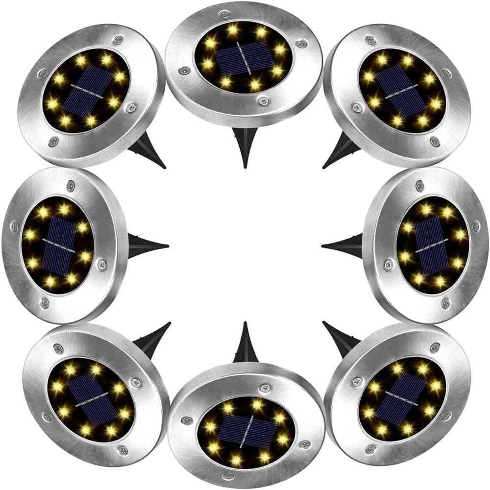Outdoor Disk Lamp In-ground Landscape Lighting   7518