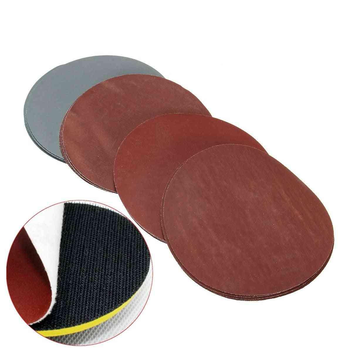 Grit Hook Loop Polishing Sandpaper Abrasive Tool For Wood Metal