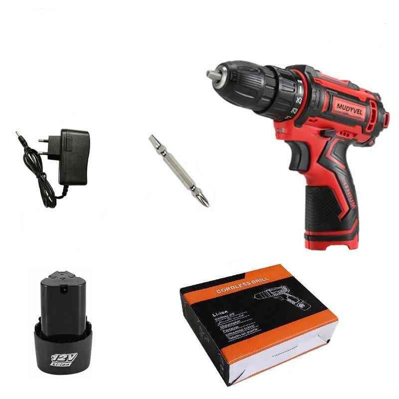 Cordless Screwdriver Mini Drill 12v 16.8v 21v Power Tools