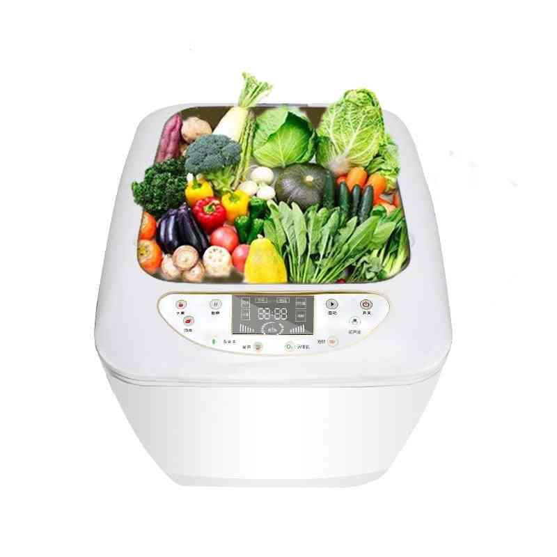 Fruit And Vegetable Disinfector Automatic Ozone Cleaning And Washing Machine, Household Ultrasonic Food Disinfection Purifier