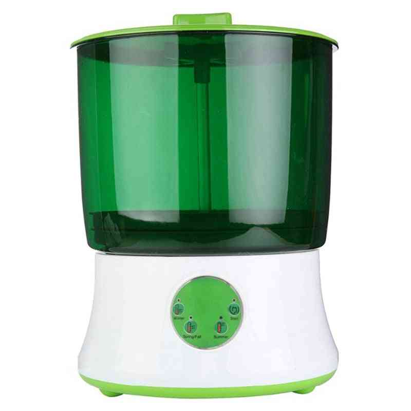 Digital Home Diy Bean Sprouts Maker, Automatic Electric Germinator, Seed Vegetable Seedling Growth Bucket, Bean Sprout Mach