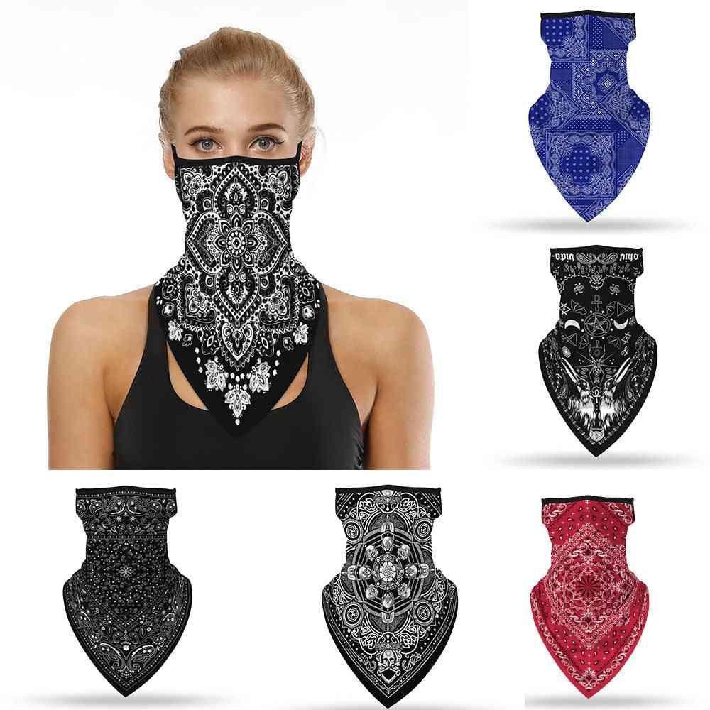 Shade Face Mask Neck Classic Retro Scarf Bike Cycling Motorcycle Fishing Bandana Multi Use Sport Headwear For Men And Women