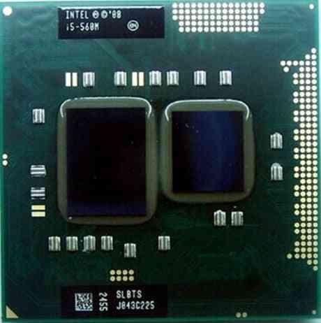 Laptop Cpu I5 560m  3m Cache K0 Pga988 Turbo Boost &notebook Cpu