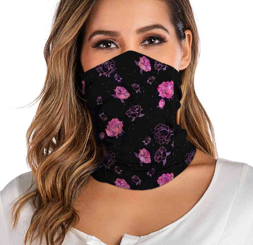 For Women Men Neck Gaiter Tube Headwear Face Scarf