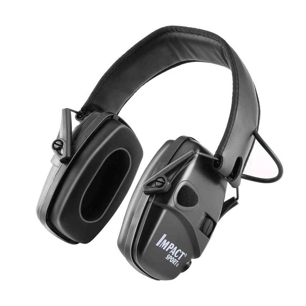 Outdoor Sports Anti-noise Impact Sound Amplification Electronic Shooting Earmuff