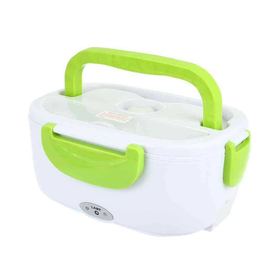Dual Use Home Car Heating Lunch Box, Thermostat Food Warmer Container,  Rice Cooker, Food Bowl, Eu Us Plug