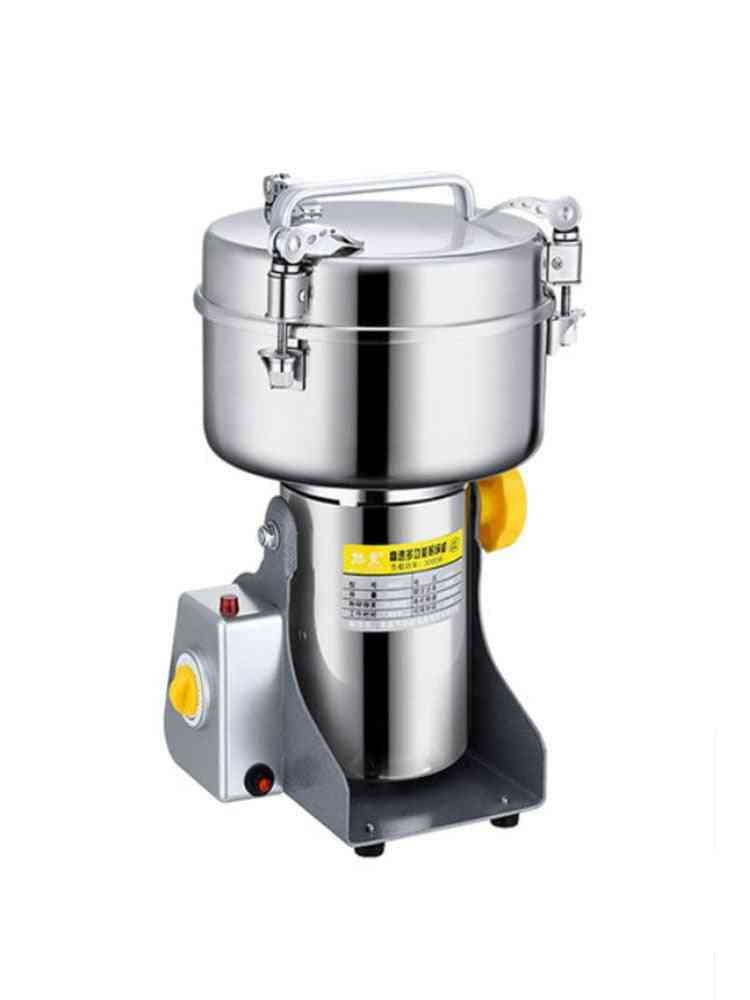 Grains Spices, Hebals, Cereals, Coffee, Dry Food Grinder, Mill Grinding Machine, Home Medicine Flour Crusher