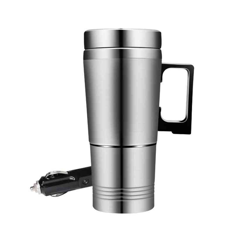 Car Based Heating Stainless Steel Cup Thermos Kettle