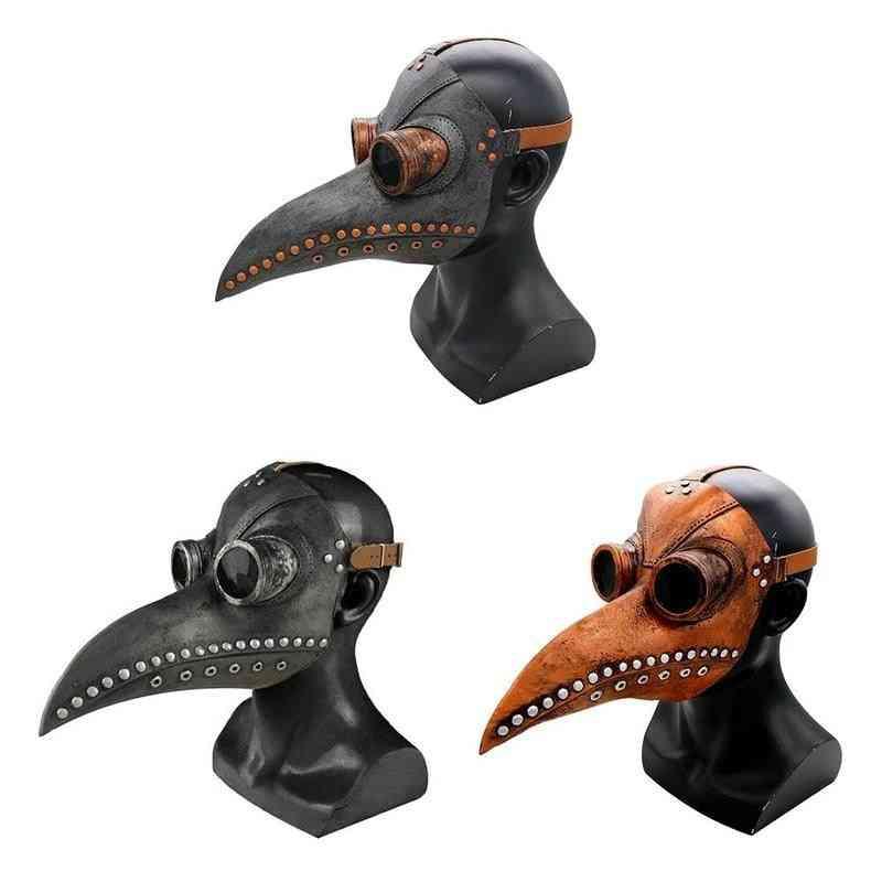 Plague Doctor Mask, Halloween Bird's Beak Mask