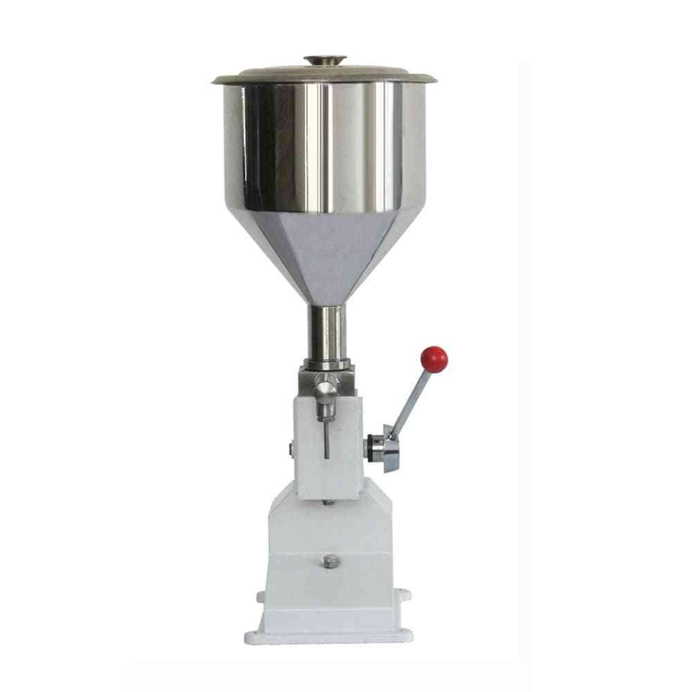 Manual Liquid Paste Cream Oil Filling Machine