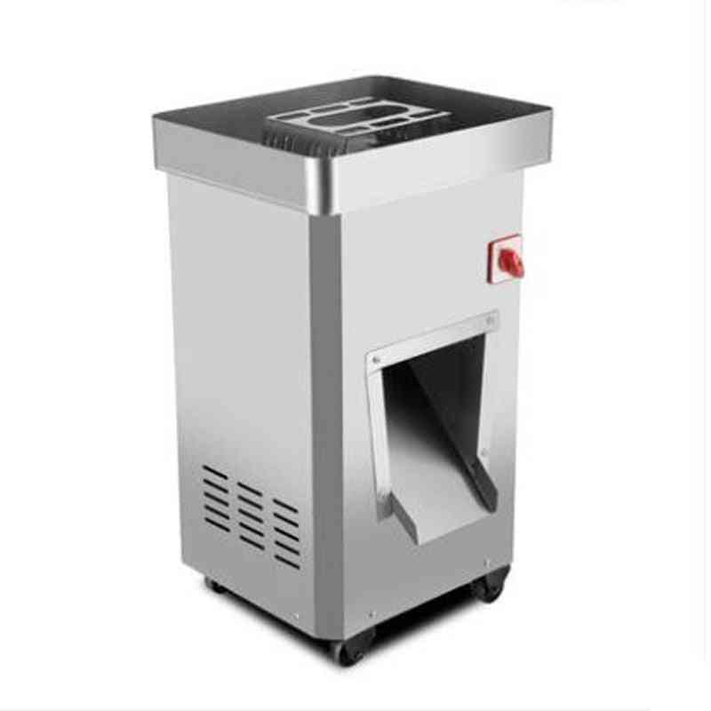 Vertical Meat Slicer, Stainless Steel, Electric Shred Slice Machine