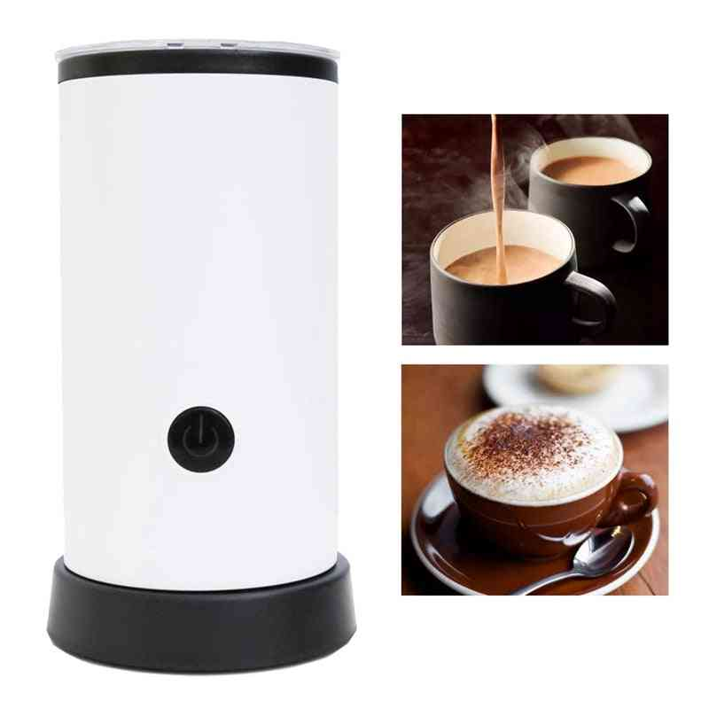 Automatic Milk Frother Coffee Foamer, Container, Soft Foam Cappuccino Maker, Electric Maker