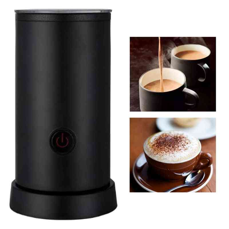 Milk Frother, Automatic Foam Maker For Hot & Cold, Stainless Steel Coffee