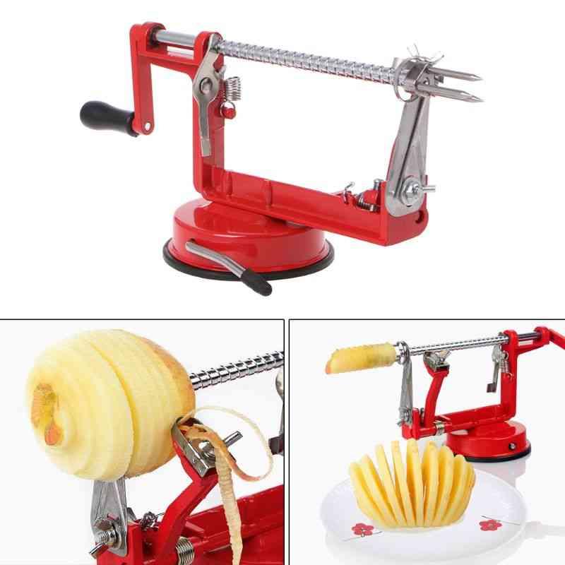 Stainless Steel Apple Peeler, Slicing Fruit Machine, Peeled Tool