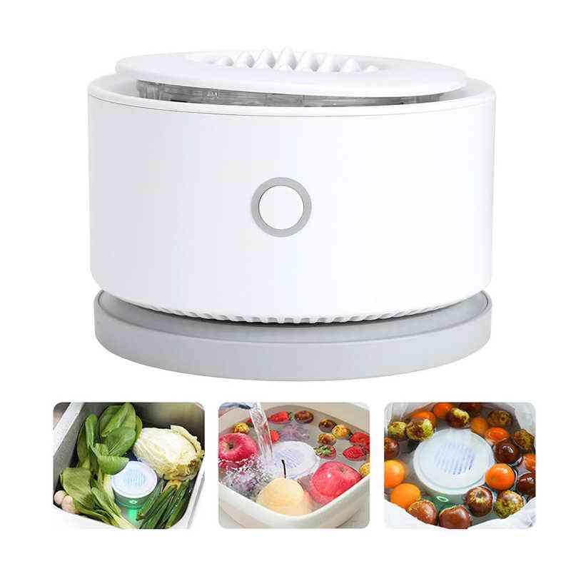 Portable Fruit Vegetable Purifier, Usb Rechargeable, Automatic Sterilize, Disinfection Remove Pesticide, Residues Food Sterilization