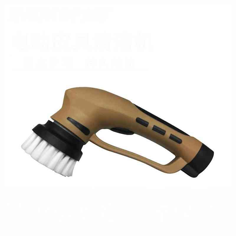 Household Automatic Shoe Polishing Equipment Machine, Machinist Take Charge, Electric Brush