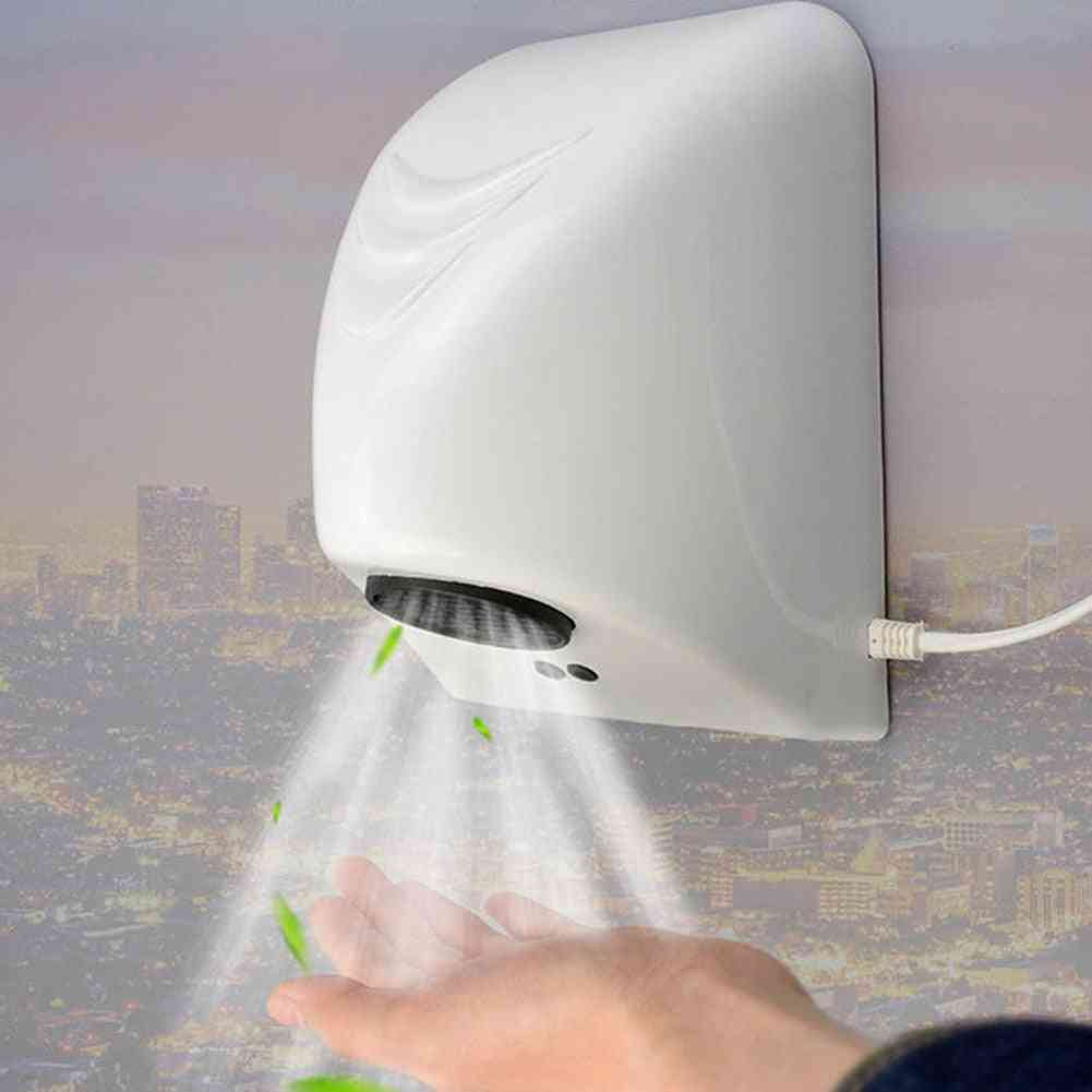 Household Bathroom Hand Drying Machine, Bathroom Hotel, Smart Automatic Infrared Sensor Machines