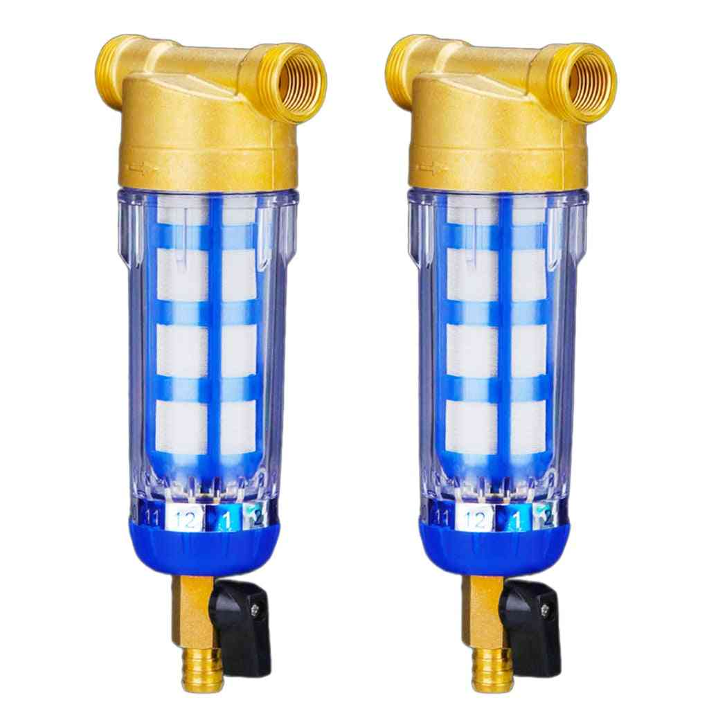 Copper Tap Water Purifier, Well Pre-filter, Filtering Mesh, Stainless Steel