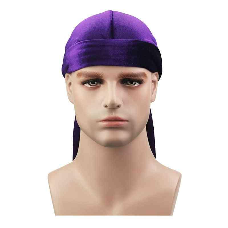 Unisex Breathable Bandana Hat Velvet, High-quality Chemo Cap