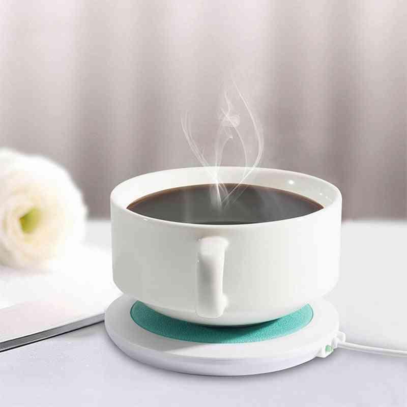 Cup Mat Heating Device Office Coffee Tea