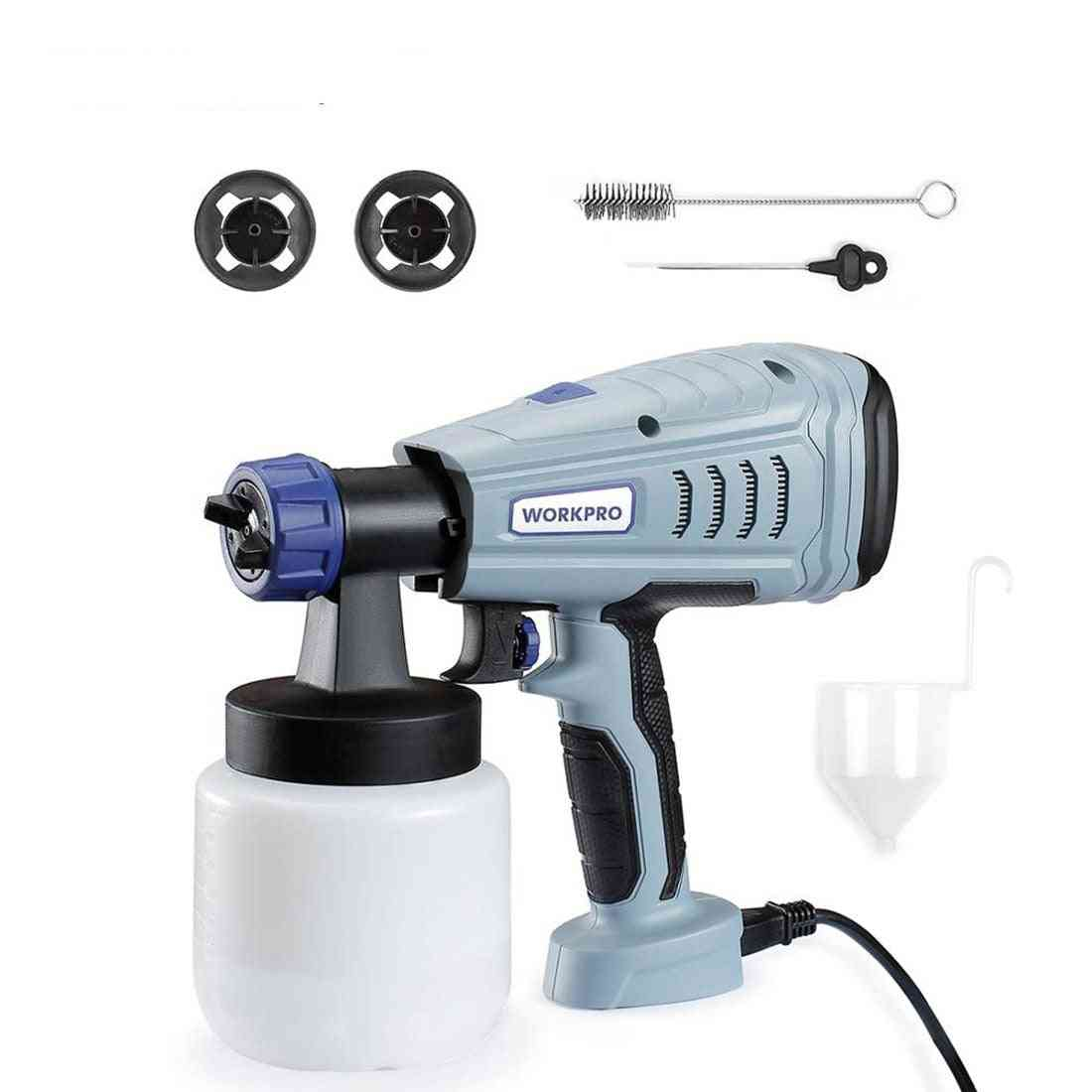 Power Electric Paint Sprayer With  Nozzle For Home Use Beginner