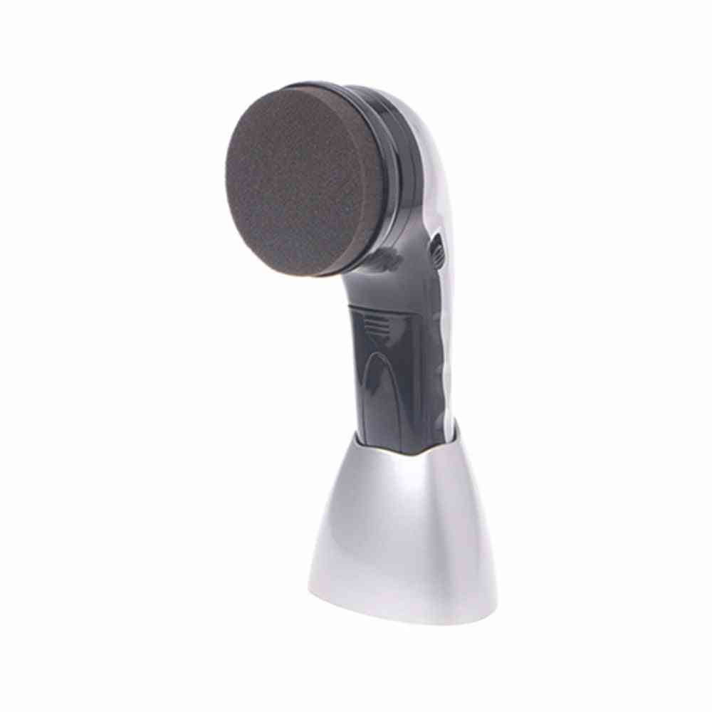 Eu Plug Portable, Handheld Automatic Electric Shoe Brush Shiner, Polisher Power Supply