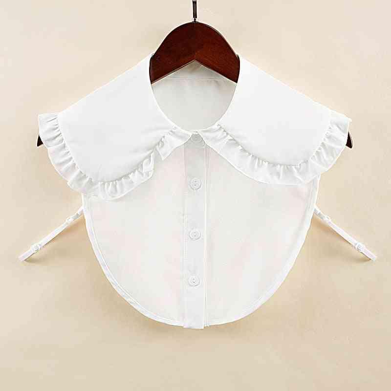 Women Shirt Fake Collar