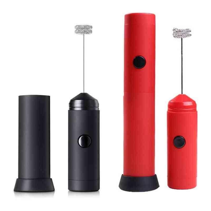 Handheld Electric Egg Beater, Mini Foamer, Bubbler Coffee Blender, Kitchen Stirrer Cooking Tool