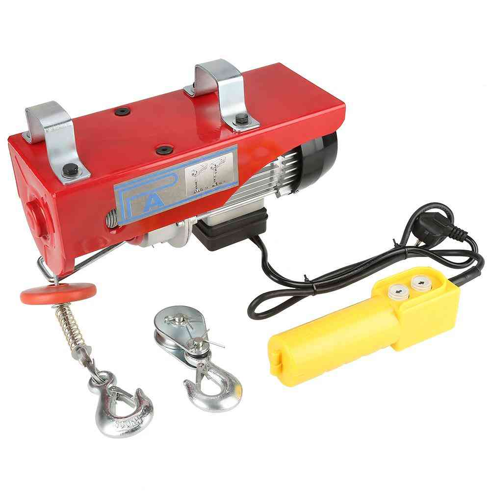 Electric Cable Hoist Lifting Wire Hanging Crane & Winch Lifting
