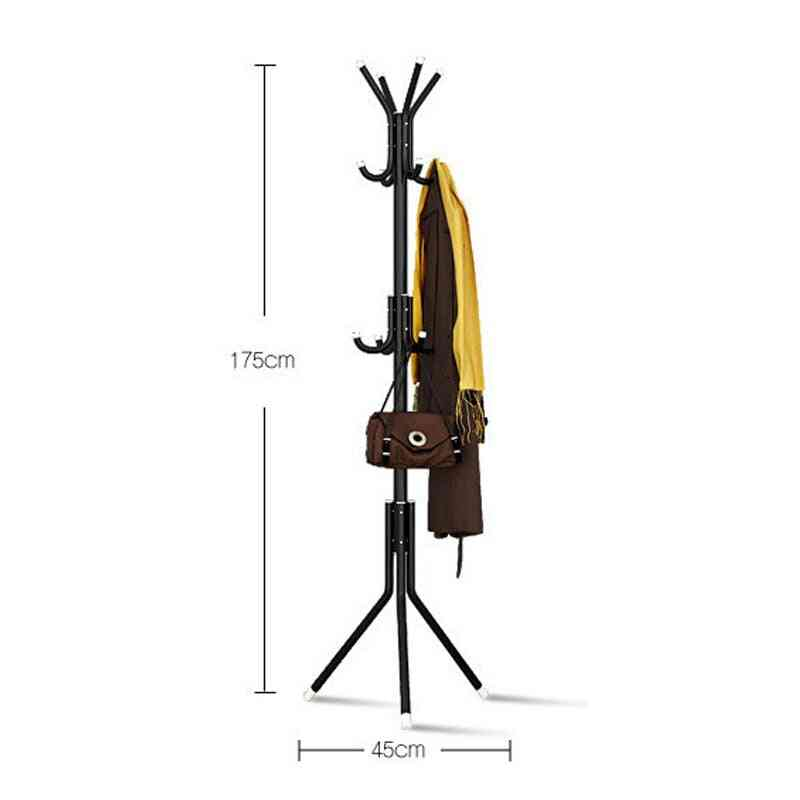 Coat/cloths Stand 9/12 Hooks Metal Assembled Hangers /display Stand