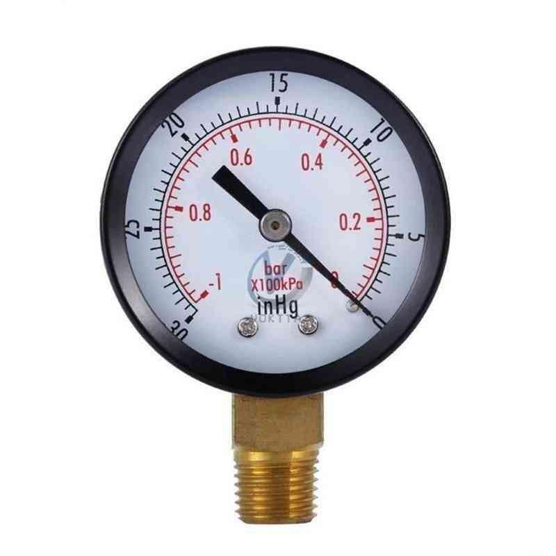 Vacuum Manometer Mini Dial Portable Dual Scale Dial Gauge