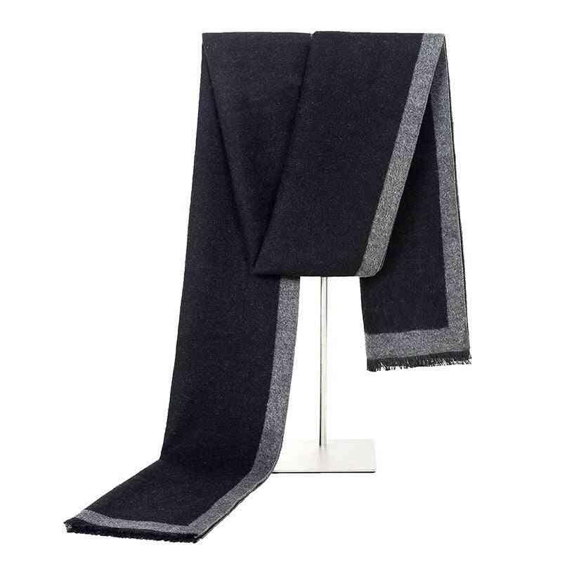 Fashion Winter Scarf, Solid Style Formal Business Shawl