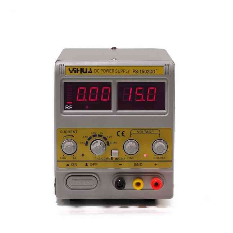 Adjustable Regulated Dc Power Supply With Led Display