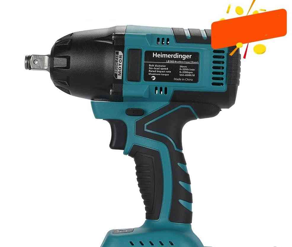 Lithium-ion Brushless Impact Wrench Compatible