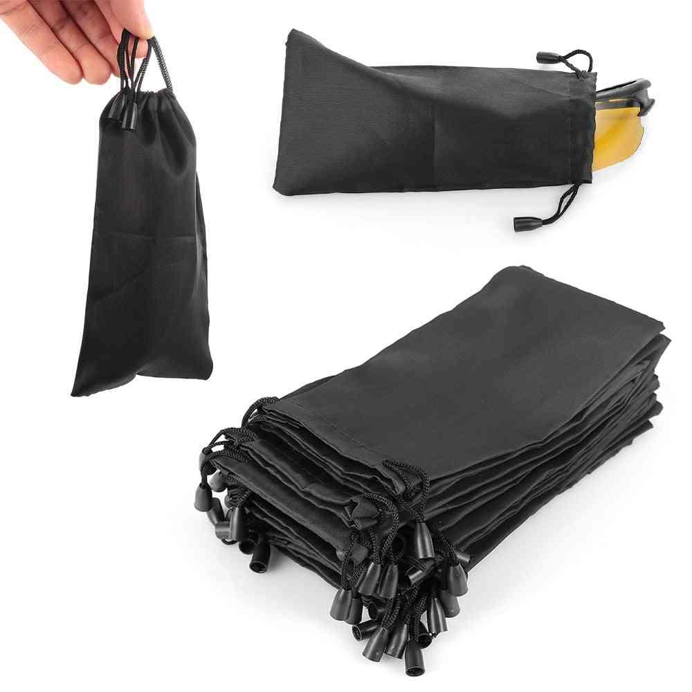 Soft Cloth Waterproof Sunglasses Bag