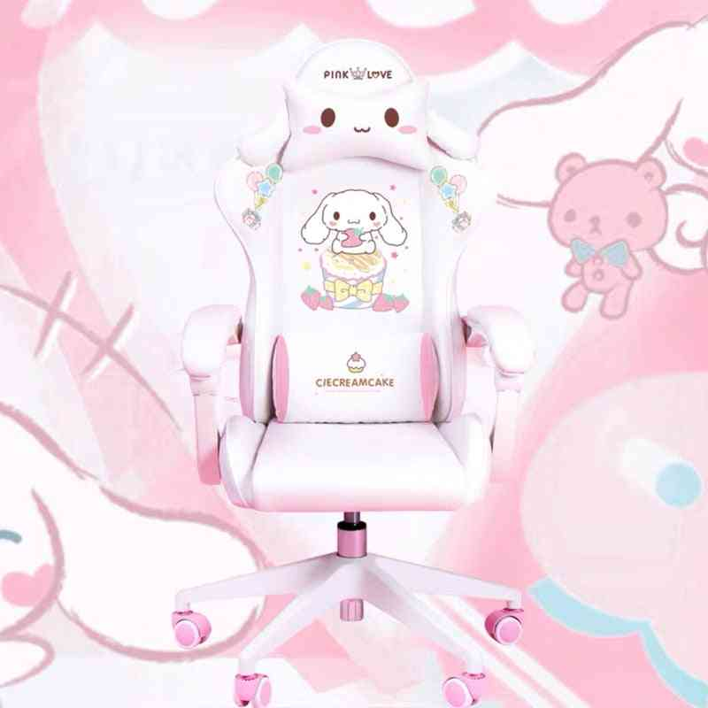 Hot Products Wcg Gaming Chair Girls Cute Cartoon Computer Armchair