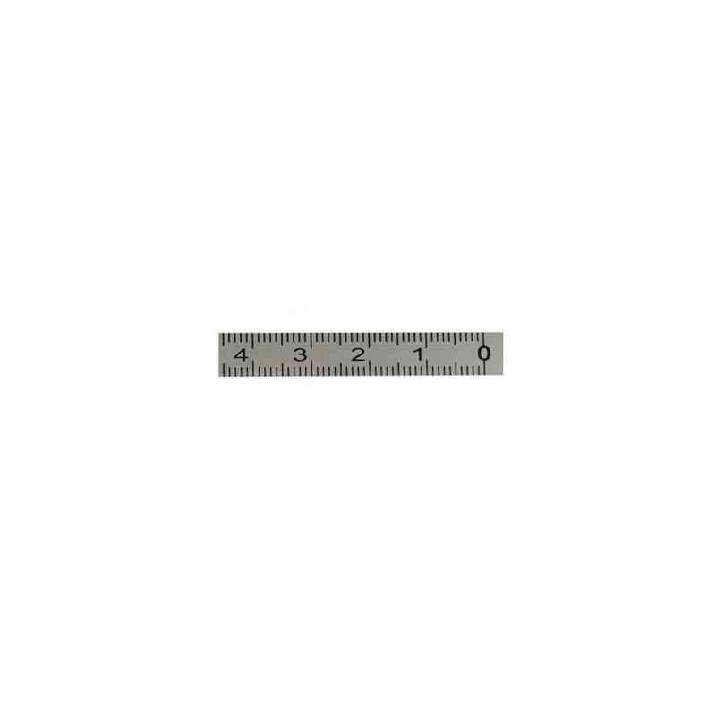 1m-6m Miter Track Tape Measure Self Adhesive Metric Stainless Steel Scale Ruler