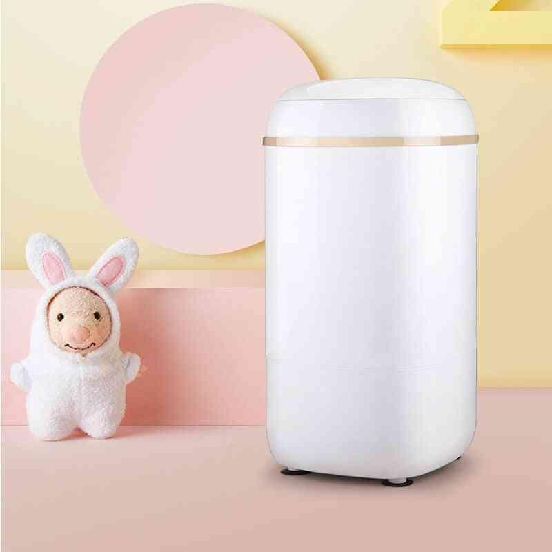 Single Barrel Mini Washing Machine, Baby Household Semi-automatic Small Cylinder