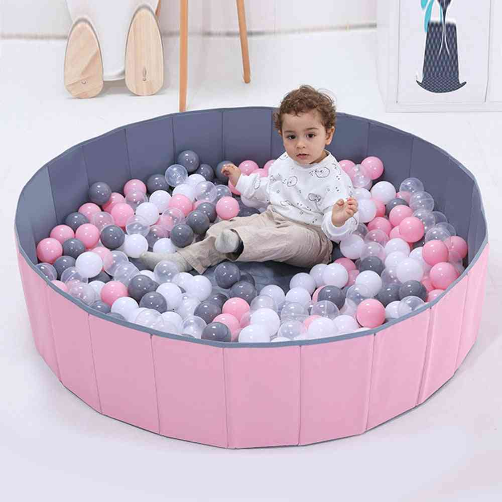 Children Play Game Tents Infant Shining Ball Pits Foldable Ball Pool Ocean Ball Playpen Toy Washable Folding Fence Kids