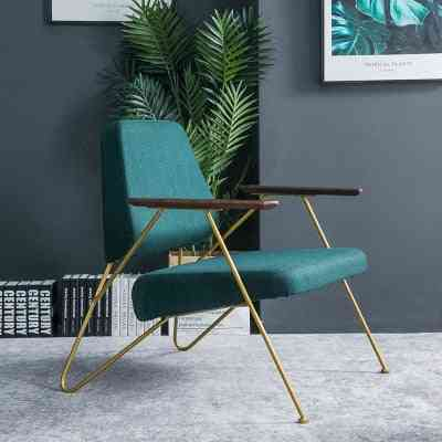 Single Sofa Leisure Iron Art Modern Simple Reading Designer Creative Personality