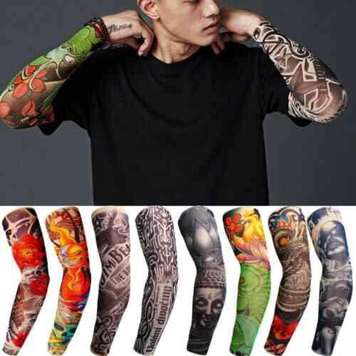Fashion Nylon Temporary Tattoo Sleeve Arm