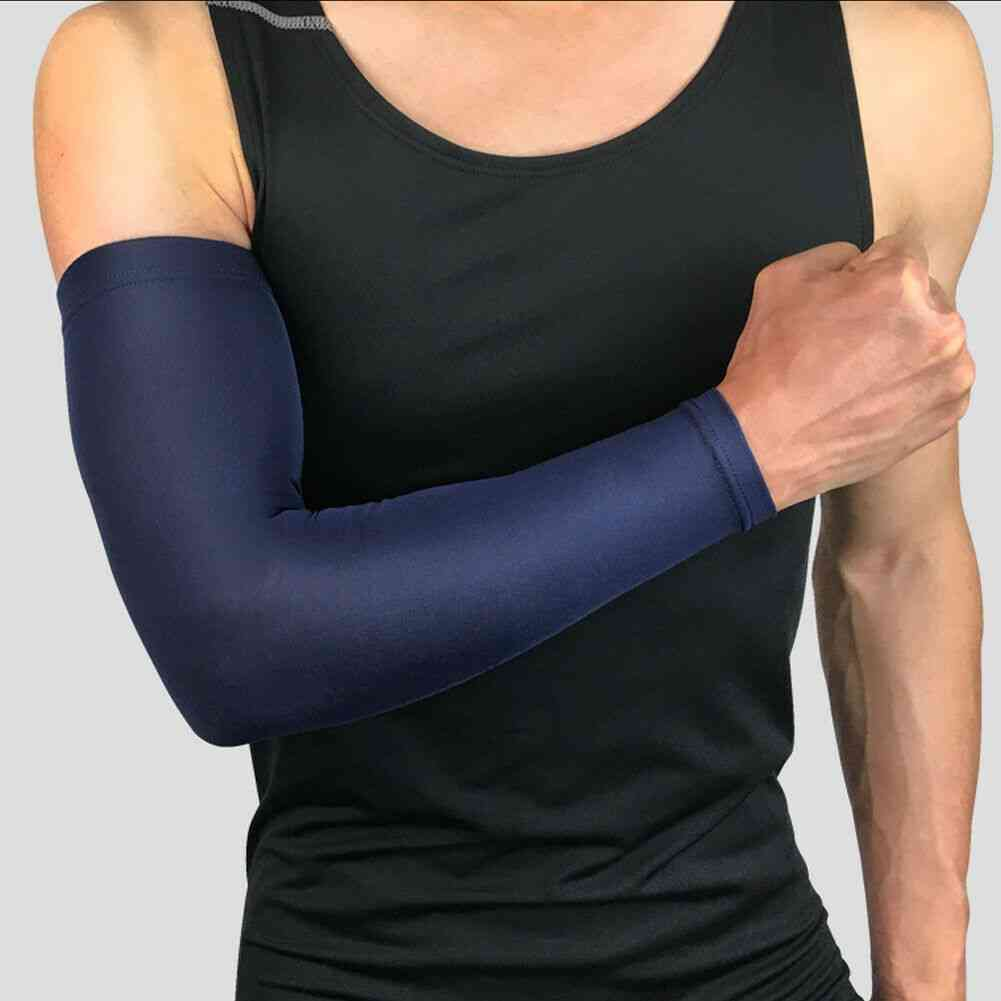 Basketball Fitness Elbow Support Compression Elasticated Arm Protector