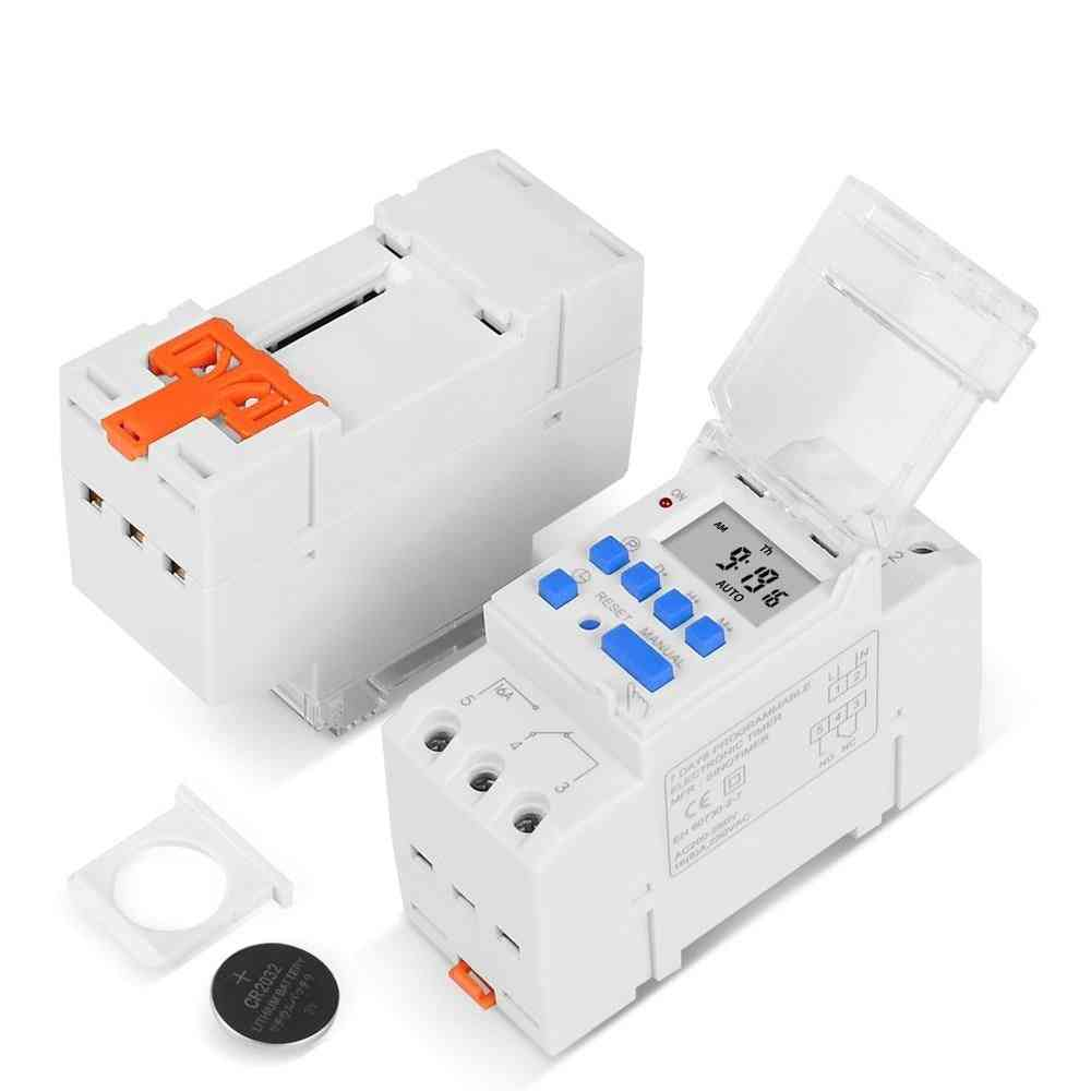 Weekly 7 Days Programmable Digital Time Switch