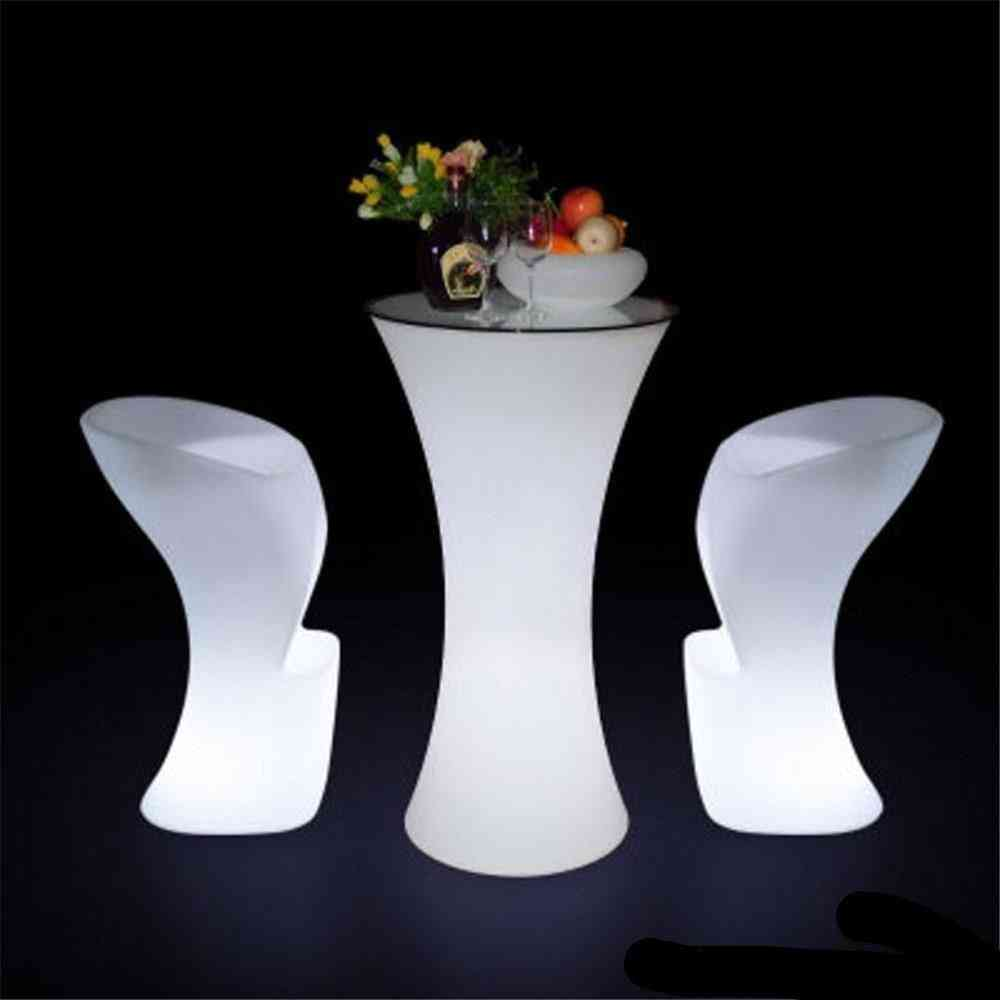 Changing Lighting Led Cocktail Table