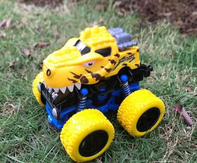 Green Kids Truck Inertia Suv Friction Power Vehicles Baby Super Blaze Car Toy