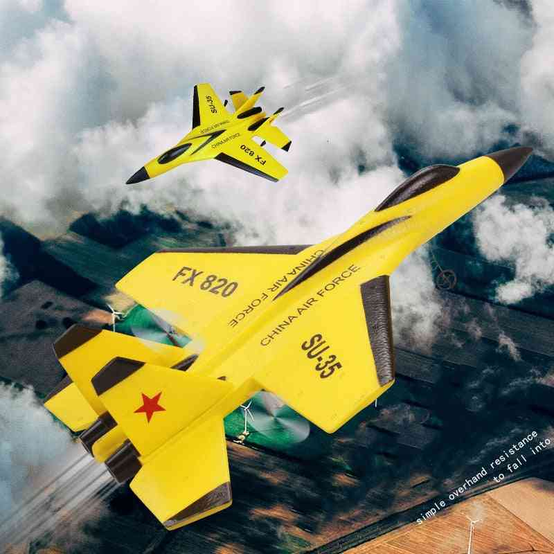 Remote Control Fighter Plane, Aeroplane Fixed Wing, Aircraft Epp Foam, Resistant To Fall, Kid's Outdoor Toy
