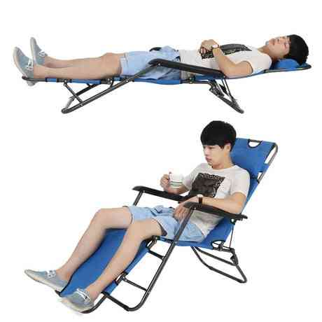 Beach Chairs  Plegable Camping Chaise Lounge Folding Bed