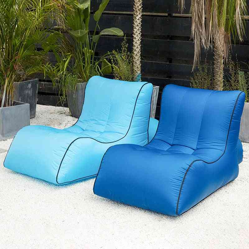 Inflatable Lounger Outdoor Waterproof Air Sofa