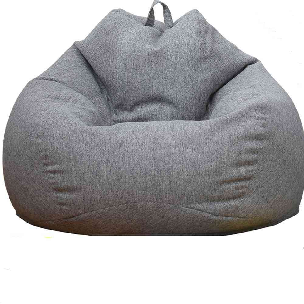 Lazy Bean Bag Sofa Chair Cover Without Filler