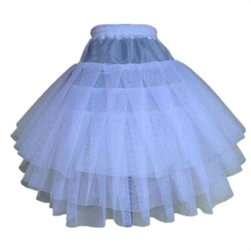 3 Layers Hoopless Short Crinoline Little Petticoats